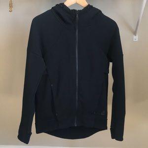 Nike zip front jacket